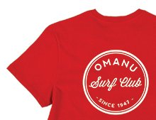 Omanu Surf Club T-Shirt