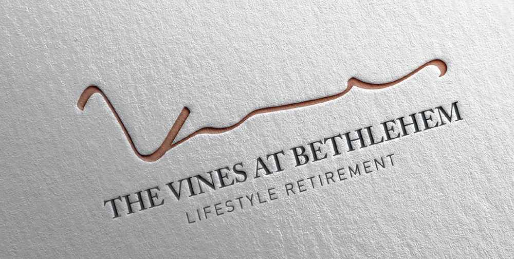 The Vines at Bethlehem branding