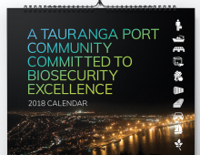 KVH / Port of Tauranga Calendar